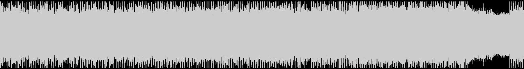 激しいスラッシュメタル ソロ入りの未再生の波形