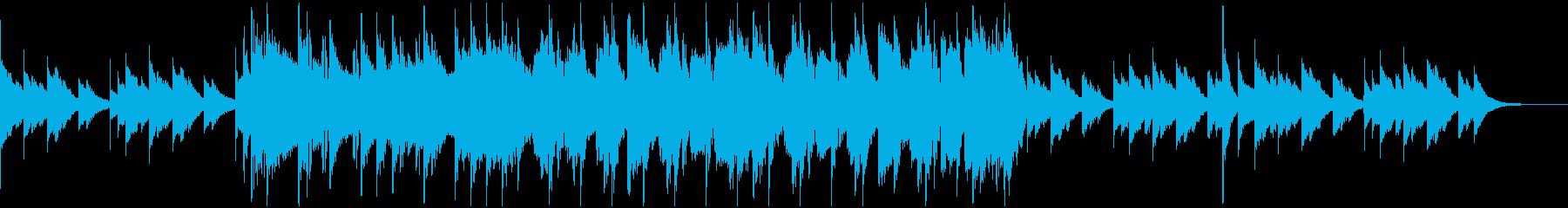 可愛らしいポップス、30秒ジングルの再生済みの波形