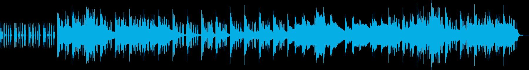 メロウでLo-Fiなインストの再生済みの波形