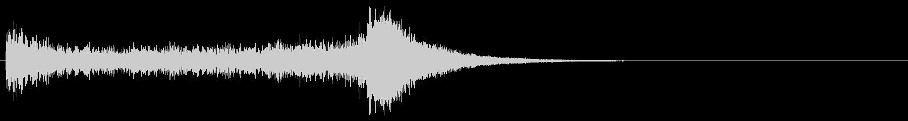 汎用04 ドラムロール(5秒でシンバル)の未再生の波形