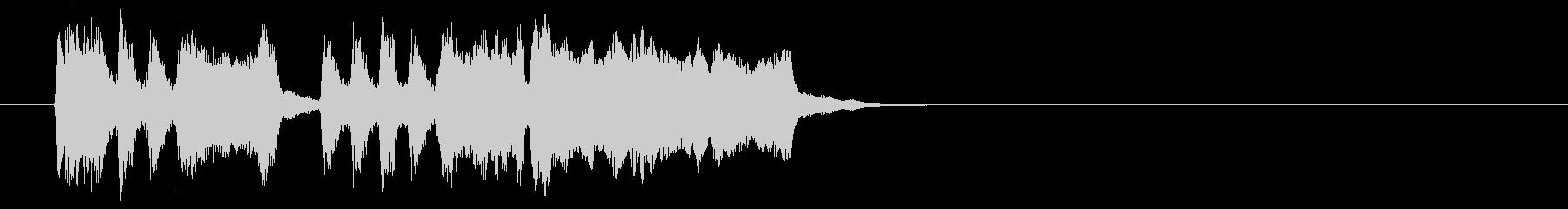Tpファンファーレ 重厚め速め弾みめの未再生の波形