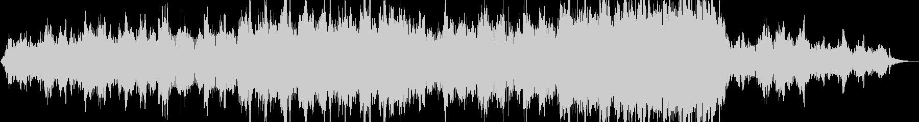 涙を誘う感じのハッピーなピアノBGMの未再生の波形