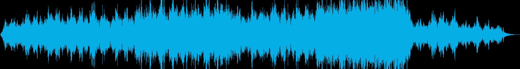 涙を誘う感じのハッピーなピアノBGMの再生済みの波形