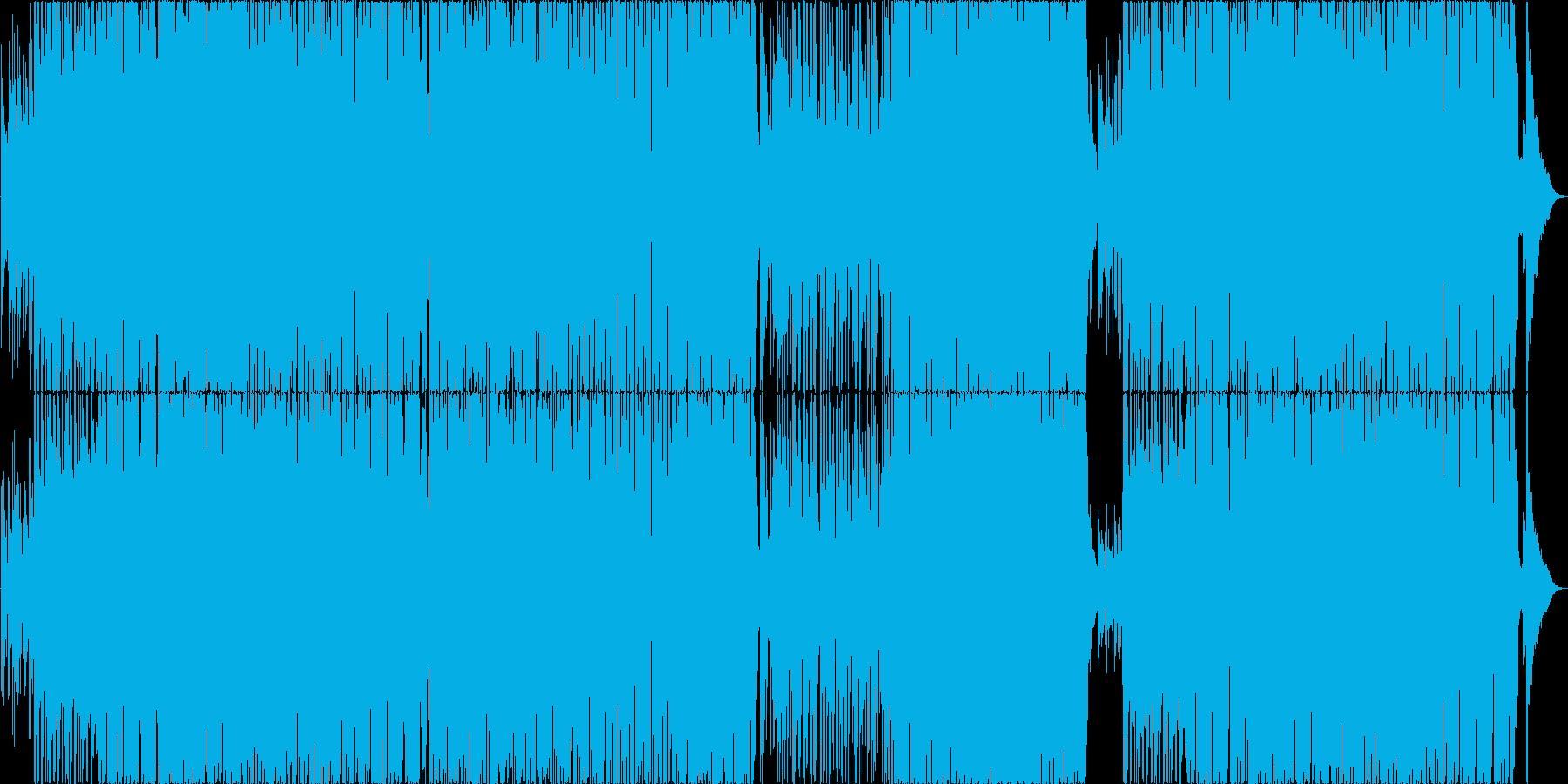 少し早めのサックスが心地よいボサノバの再生済みの波形