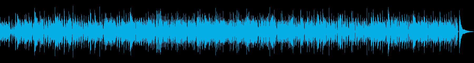 ジャズラウンジピアノトリオでスウィングの再生済みの波形