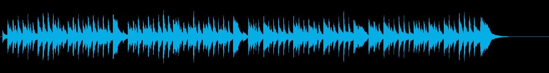 グラーツのワルツ第7番(シューベルト)の再生済みの波形