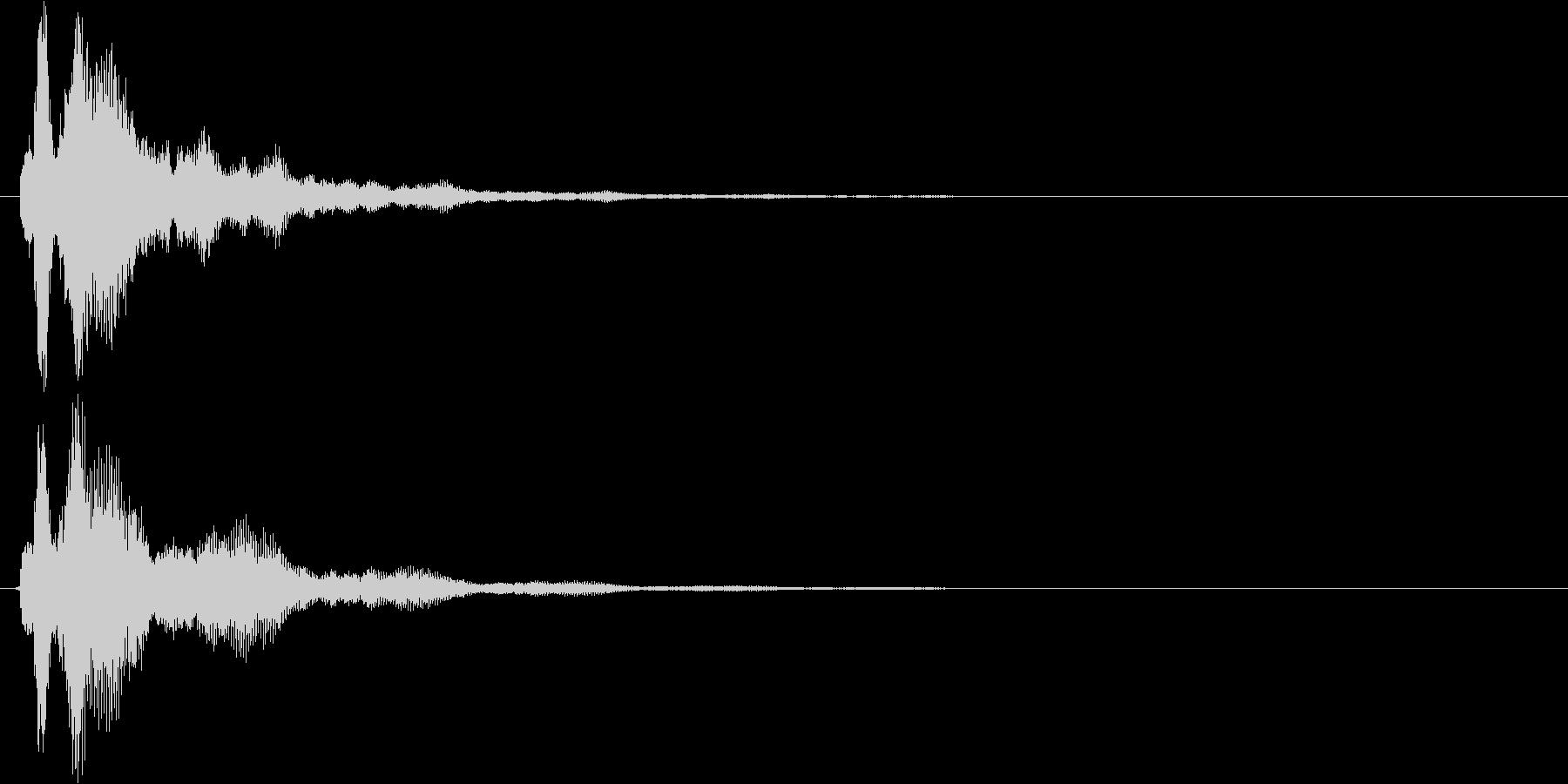 ピラーン 使い易いSEシリーズの未再生の波形
