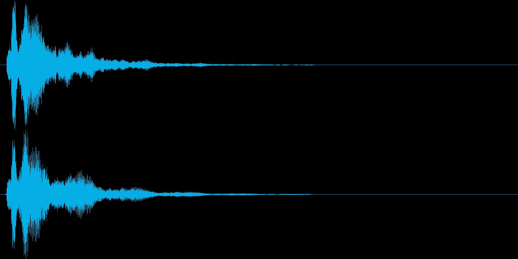 ピラーン 使い易いSEシリーズの再生済みの波形