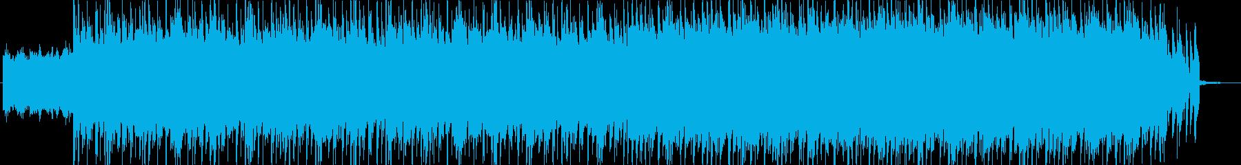 企業VP、商品販促動画用BGMの再生済みの波形