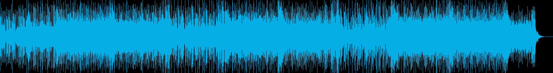元気でカッコイイ疾走感あふれる曲の再生済みの波形