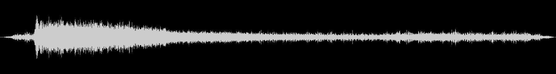 排気音 ボイラー音 蒸気機関車の未再生の波形