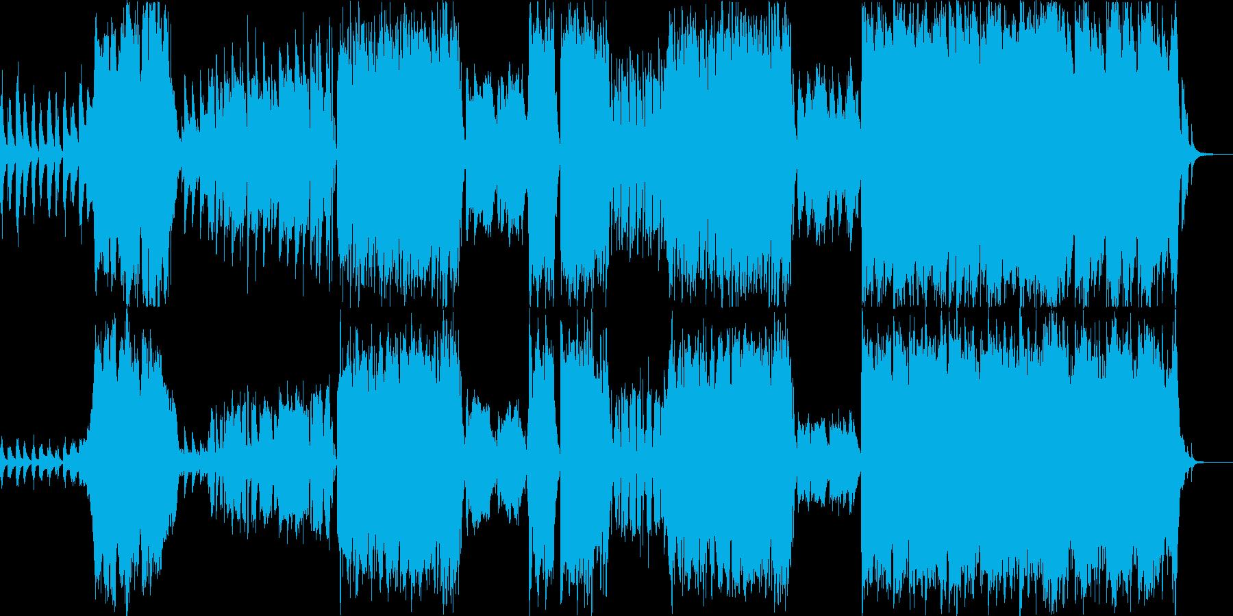 軽快・壮大・透明感、オーケストラワルツの再生済みの波形
