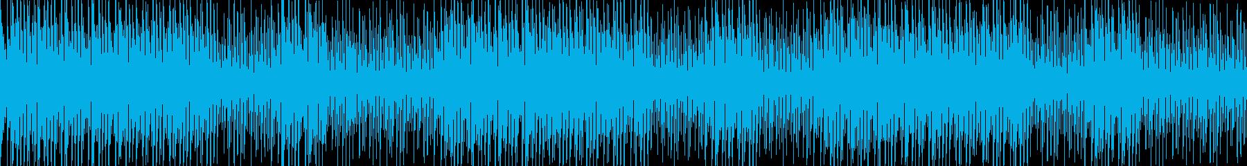透明感のある爽やかなウクレレBGMの再生済みの波形