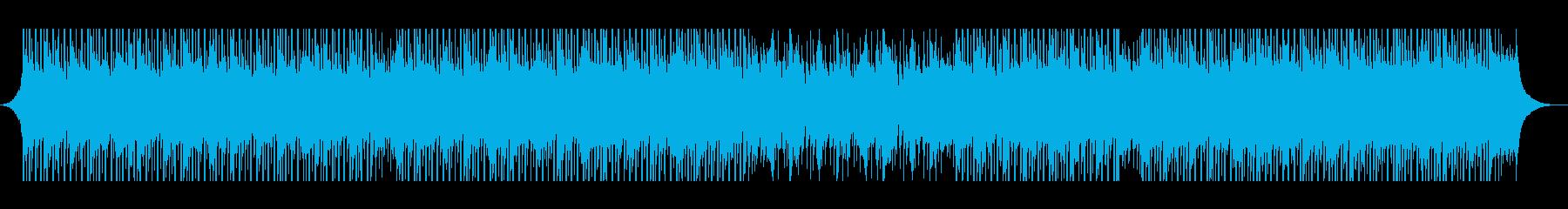 プレゼンテーションの再生済みの波形