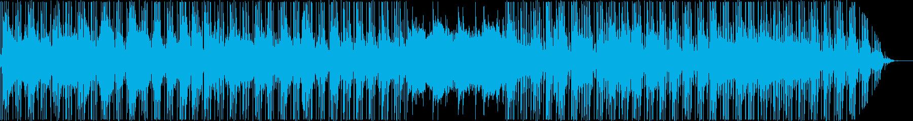 アジアンテイストなヒップホップの再生済みの波形