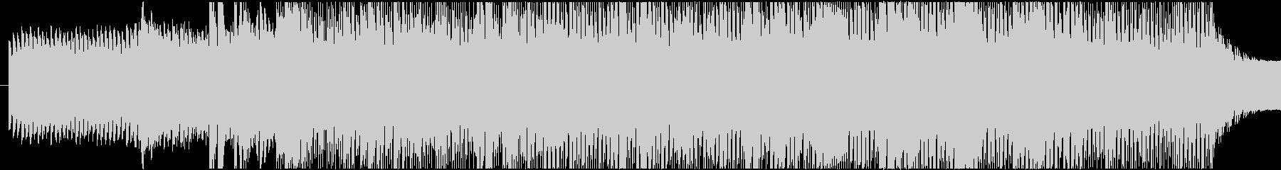 ミステリアスなBGMですの未再生の波形