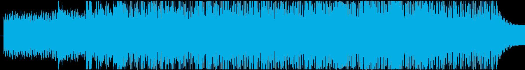 ミステリアスなBGMですの再生済みの波形
