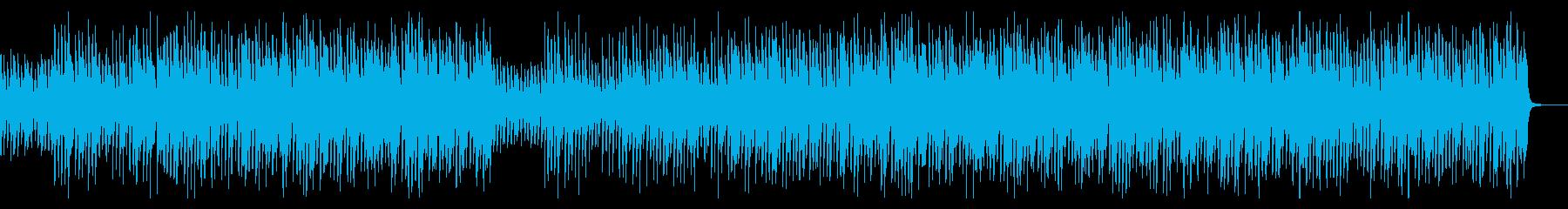 【ドラム抜き】陽気でノリの良いコンセプトの再生済みの波形
