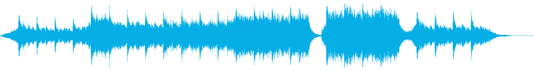 ハリウッド映画風の壮大なオーケストラ6Cの再生済みの波形
