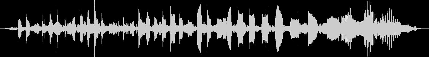 通信信号シンセビープパルススイープ...の未再生の波形