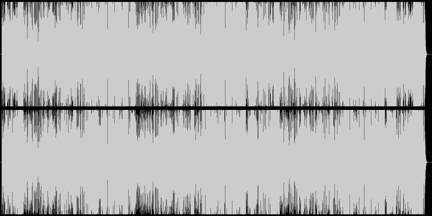 昭和のロボットアニメの主題歌風の未再生の波形