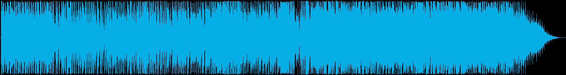 明るく楽しいシャッフルポップの再生済みの波形