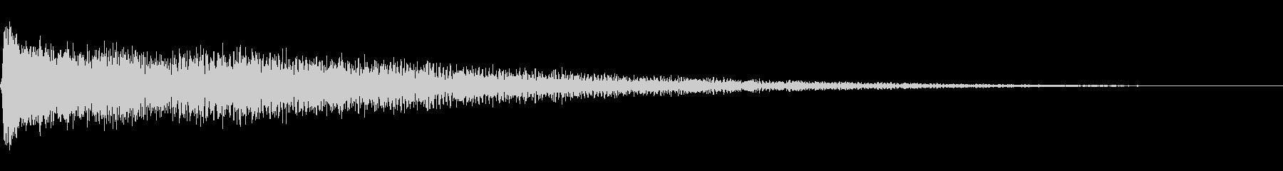 金属加工金属インパクトヘルズベルの未再生の波形
