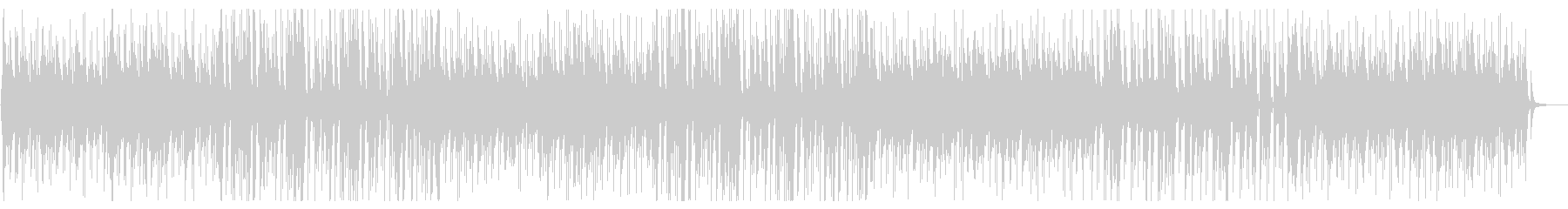 ゆったり落ち着くピアノのボサノバの未再生の波形