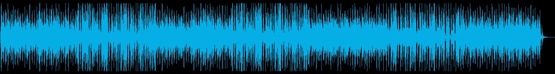 ゆったり落ち着くピアノのボサノバの再生済みの波形