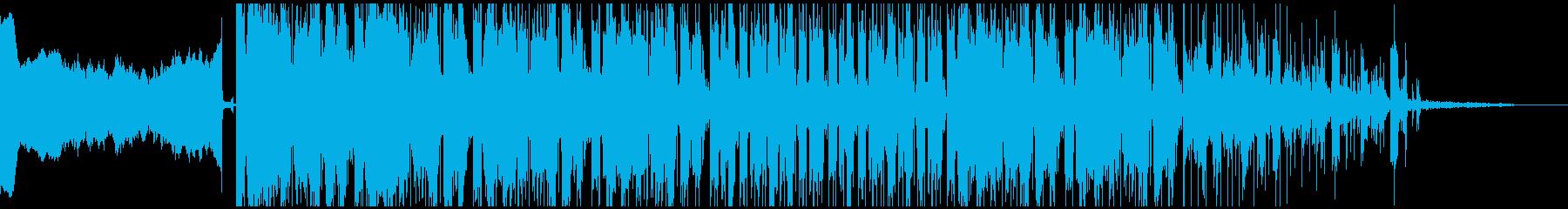 ギター breakbeats!の再生済みの波形