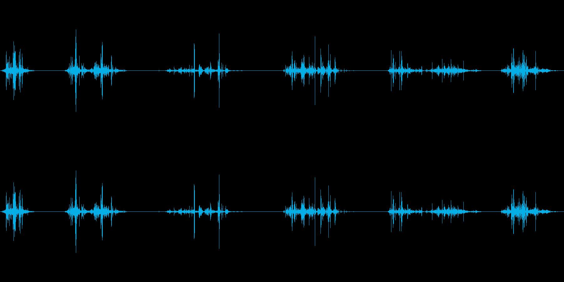 グチュ:ヌルヌルしたものを触るの再生済みの波形