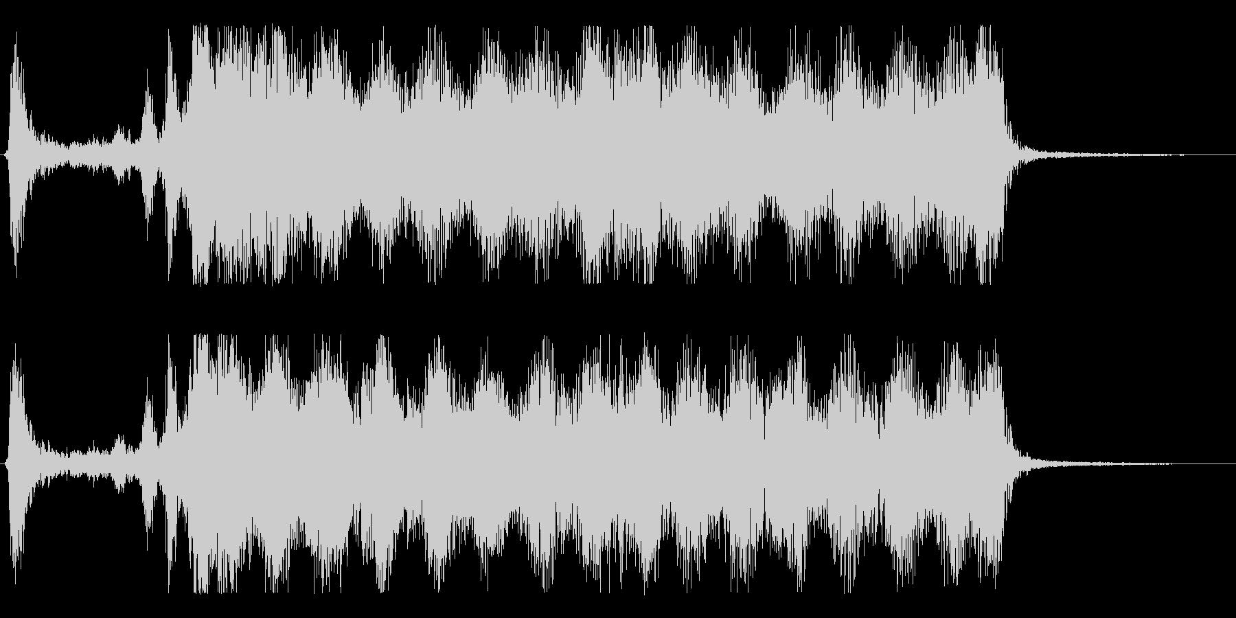 スペル 人生の抽出01の未再生の波形