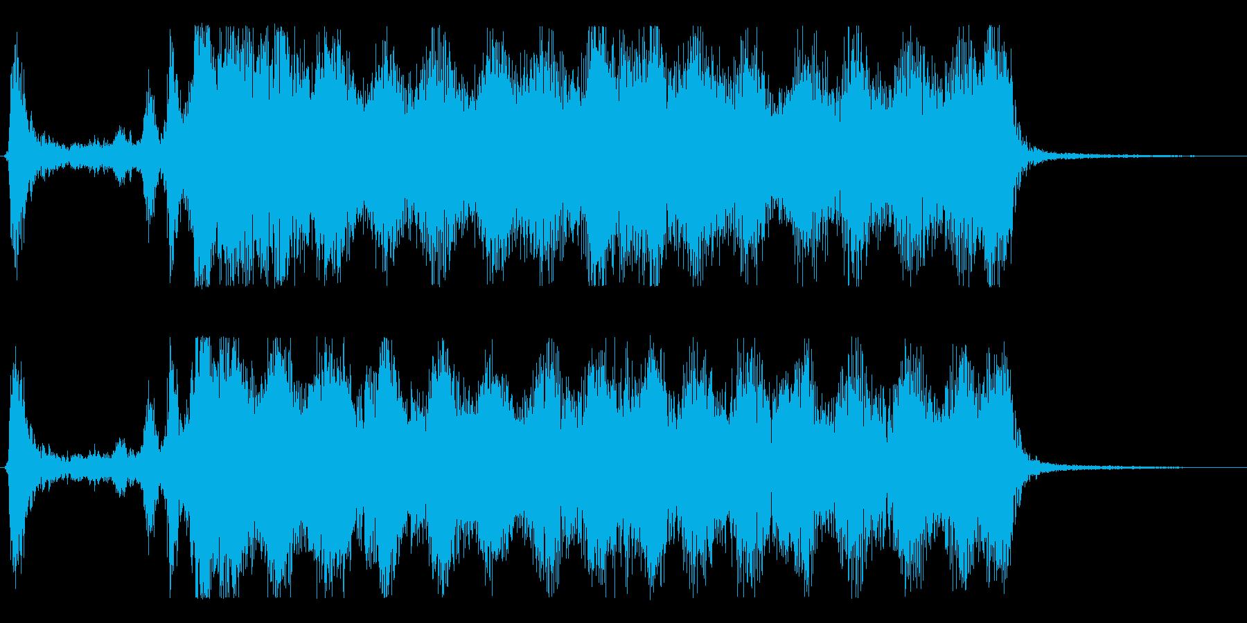 スペル 人生の抽出01の再生済みの波形