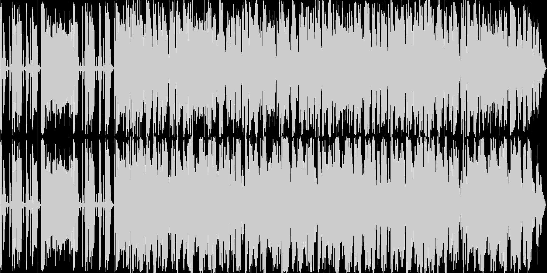 Funkyサウンドの未再生の波形