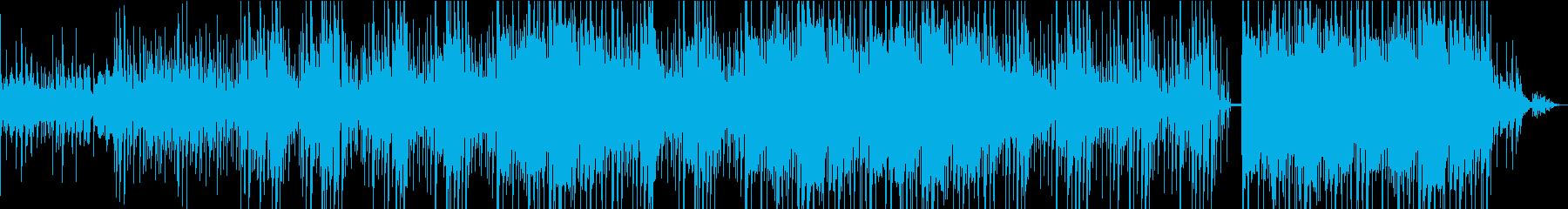 ウクレレ スチールドラム 明るくゆったりの再生済みの波形