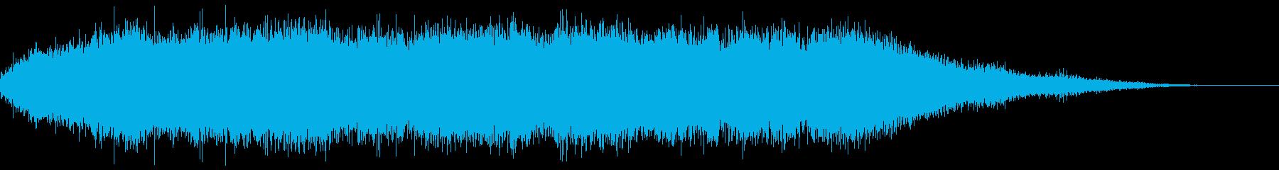 電動サンダー:高音域の安定したモーター。の再生済みの波形