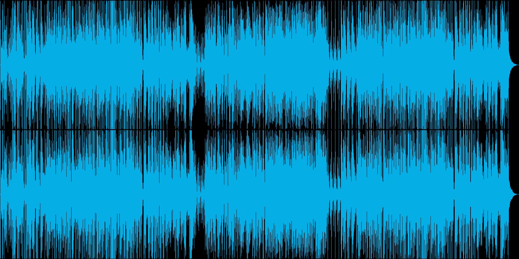 三拍子のオーソドックスジャズの再生済みの波形