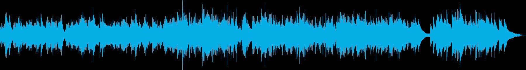 企業VPや映像に感動・優しいピアノソロの再生済みの波形