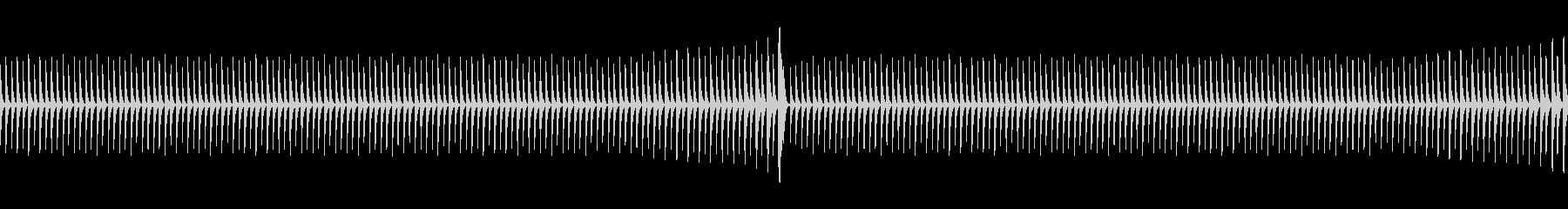 シンキングタイム(ループ)の未再生の波形