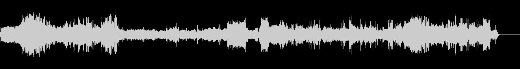コンピューターインテリアBの未再生の波形