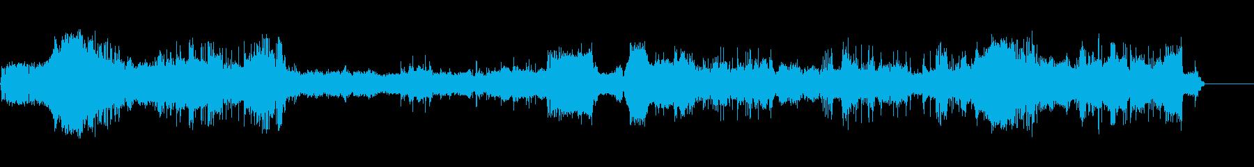 コンピューターインテリアBの再生済みの波形