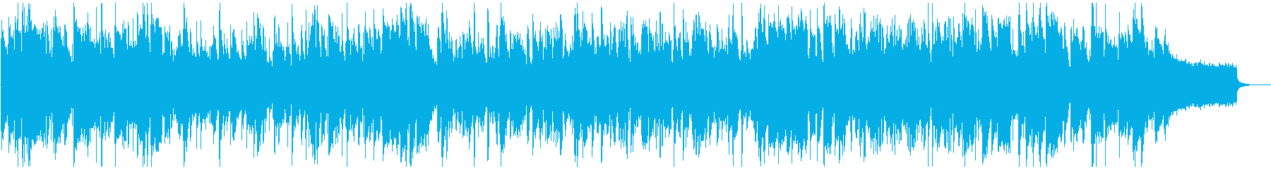 超かっこいい高速ジャズ ※60秒版の再生済みの波形