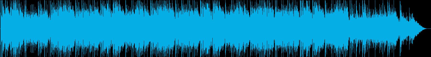 童謡「ひなまつり」の和楽器のバンド演奏の再生済みの波形