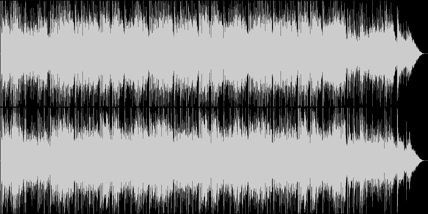 童謡「ひなまつり」の和楽器のバンド演奏の未再生の波形