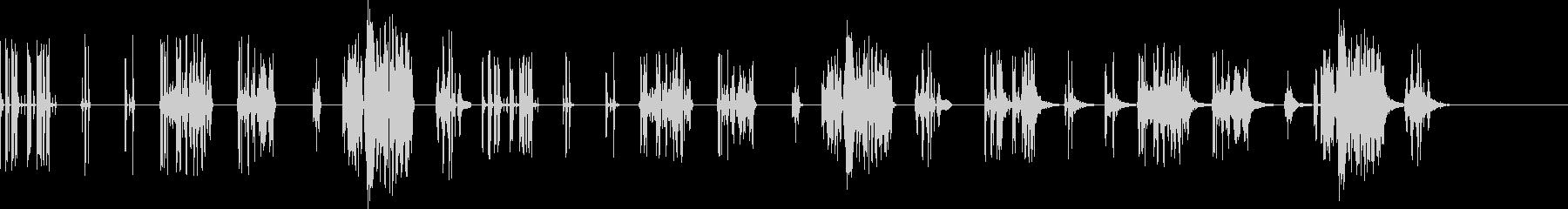 サンプルとホールド-7バージョンX...の未再生の波形