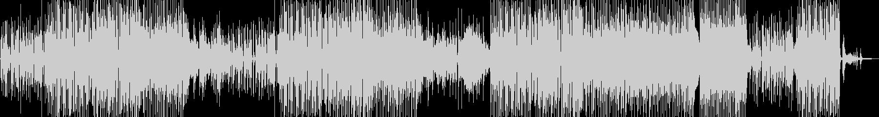 シャイで乙女チック・軽快なジャズ 長尺の未再生の波形