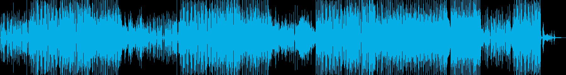 シャイで乙女チック・軽快なジャズ 長尺の再生済みの波形