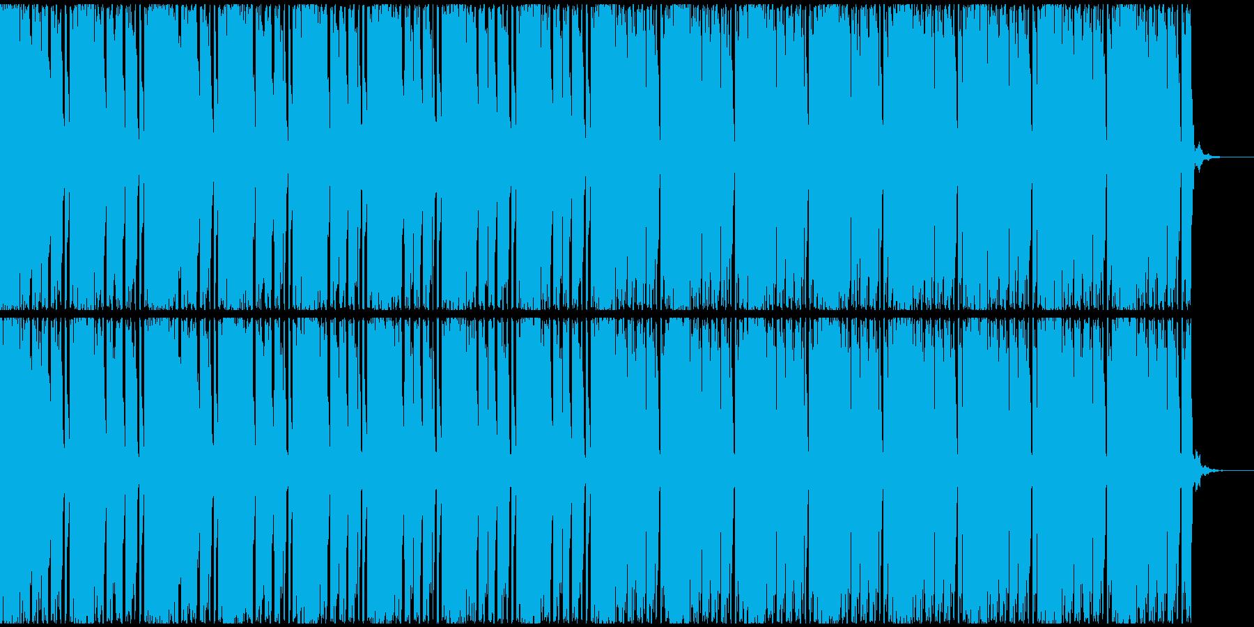 【EDM】トランス、ロング8の再生済みの波形