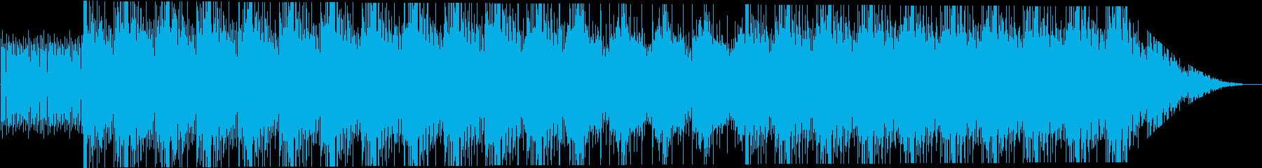 神秘的で繊細な結晶の再生済みの波形