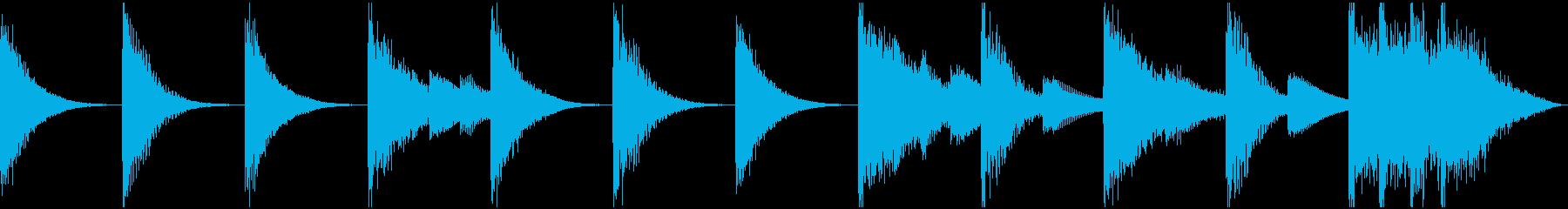 6秒シンキングタイム、アプリ、ゲームの再生済みの波形